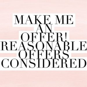 Other - OFFERS CONSIDERED